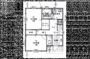 東京ゲーミングシェアハウス 1階 間取り図