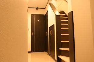 玄関前階段